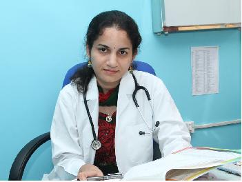 Dr. B Niveditha-Paediatrician